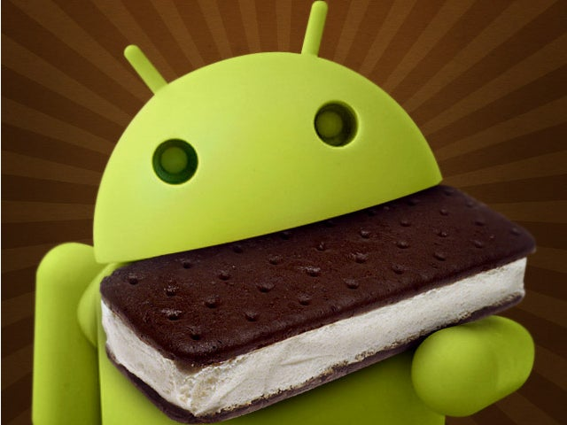 Ice Cream Sandwich Android