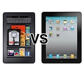 iPad   vs Kindle, tablets vs e-readers