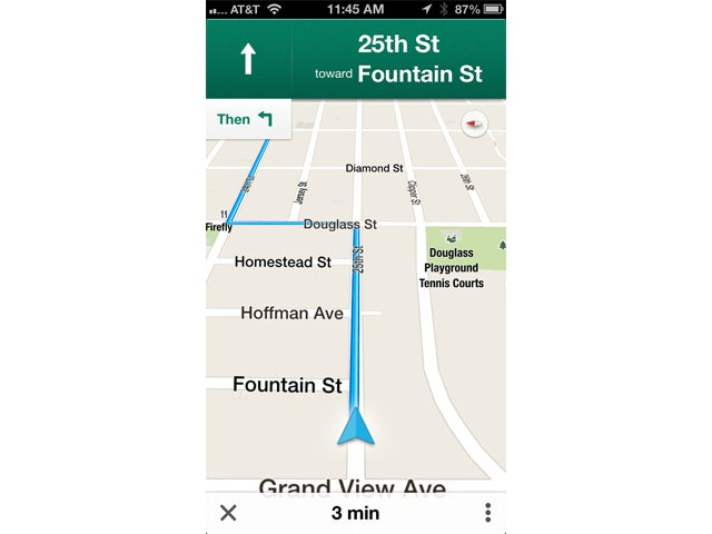 Google Maps for iOS Mostly Gets iPhone Users Back on Track – Turn by Turn Maps