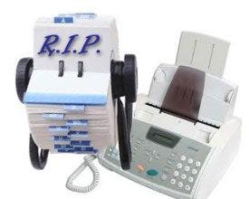 R.I.P Rolodex, Fax