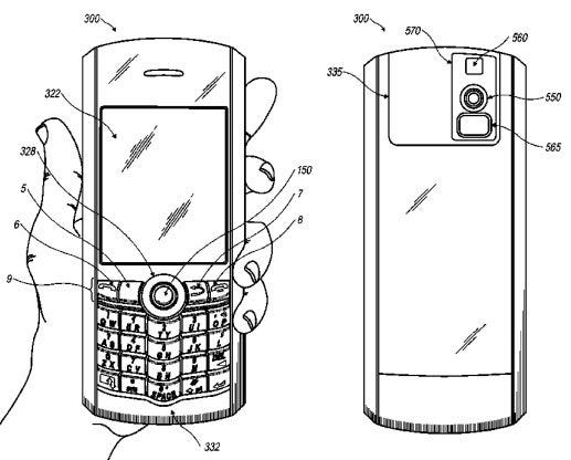 RIM Camera BlackBerry Security Patent Image