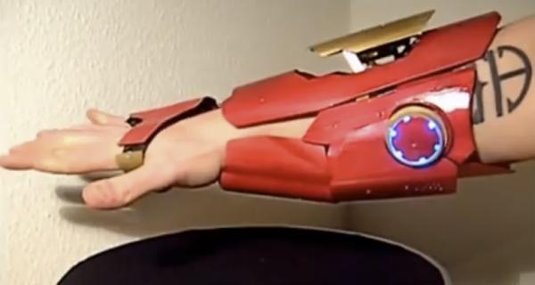 Man Makes Functioning 'Iron Man' Laser Gauntlet   CIO