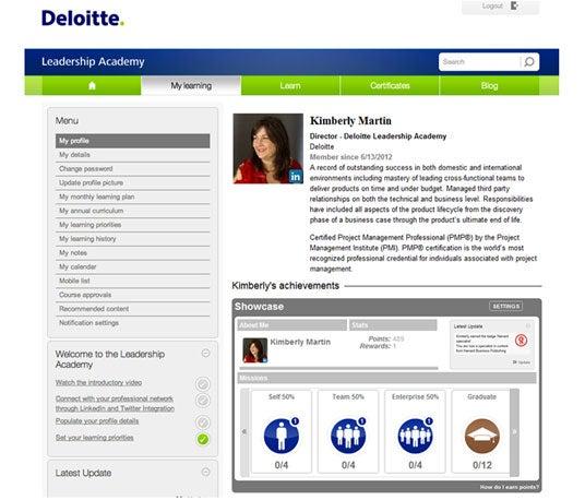 Deloitte Deloitte Leadership Academy