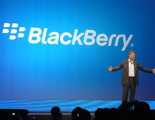BlackBerry CEO Thorsten Heins at the New York BlackBerry 10 Launch