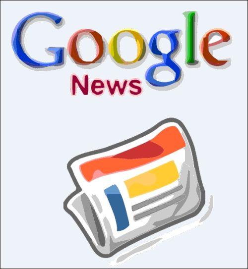 Google News Website Image