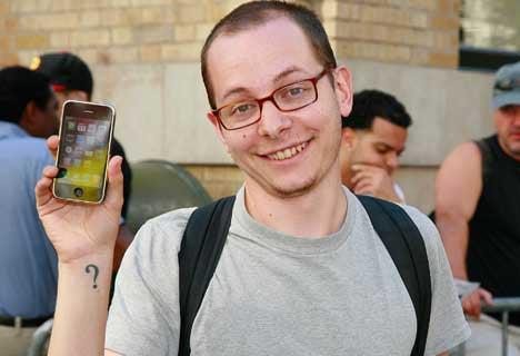 iPhone fanboi fanboy