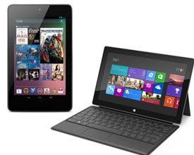 Microsoft Surface, Google Nexus 7, tablets