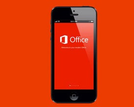 Microsoft Office on Apple iPhone
