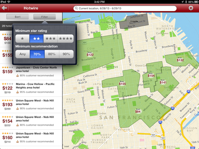 Hotwire iPad