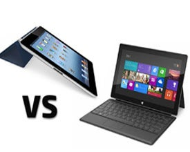 Microsoft Surface, Apple iPad, tablets
