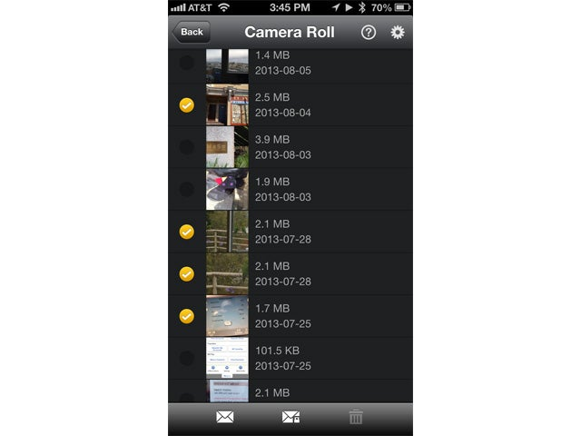 WinZip iPhone