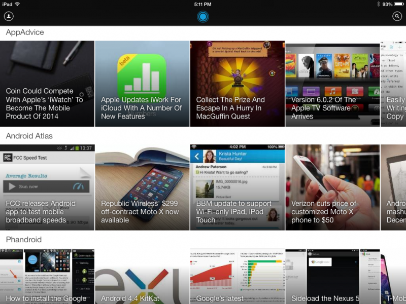 LinkedIn Pulse iPad