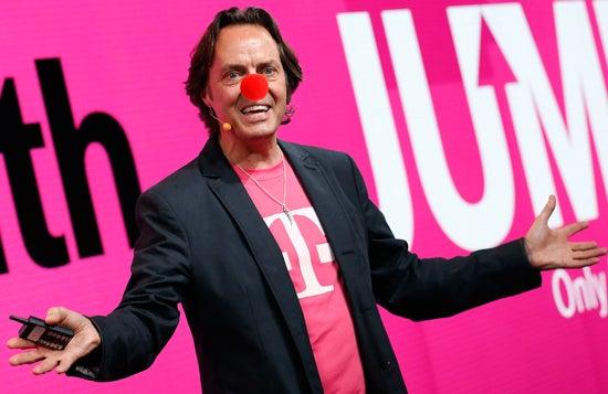 T-Mobile CEO John Legere Clown Nose
