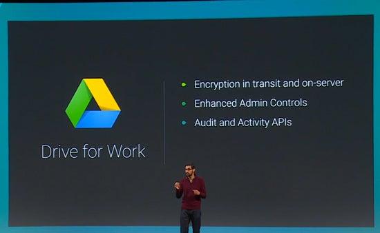 Google's Sundar Pichai at I/O 2014