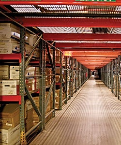 Document storage must be carefully organized