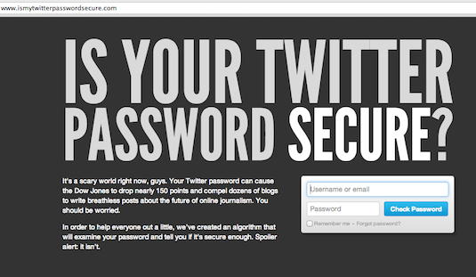 Is your Twitter password secure? | CSO Online