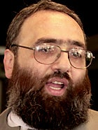 Sheikh Omar Bakri Muhammad, founder of the London-based group Jama'at Al-Muhajirun