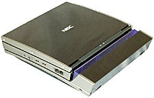 Hitachi's prototype notebook computer with