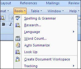 Word 2007 with Classic Menu