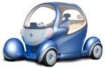 Nissan's Pivo 2 concept car.