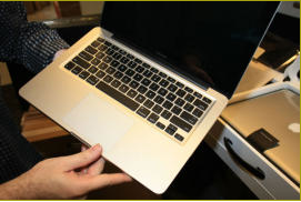 macbook aluminum tested