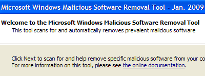 malicious removal tool windows 7 64 bit