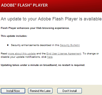 adobe flash player 28