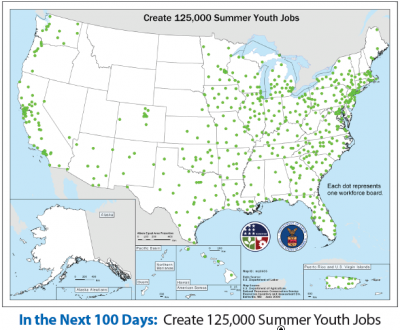 ARRA Spending Map: Youth Jobs
