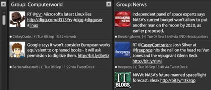 TweetDeck groups