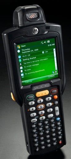 MC3100 rugged handheld
