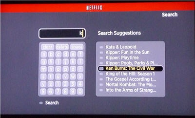 Roku search