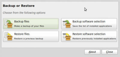 The Mint Backup Tool is about as easy to you as you can get.