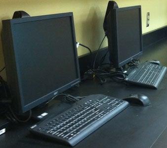Acer Veriton N260Gs in a school