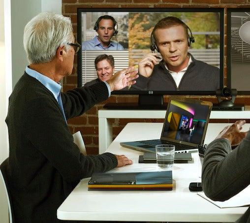HP videoconferencing