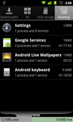 Android Gingerbread: