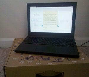 Google Chrome OS Notebook