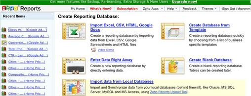 Free data analysis