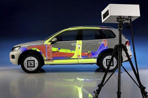 Volkswagen's projective AR