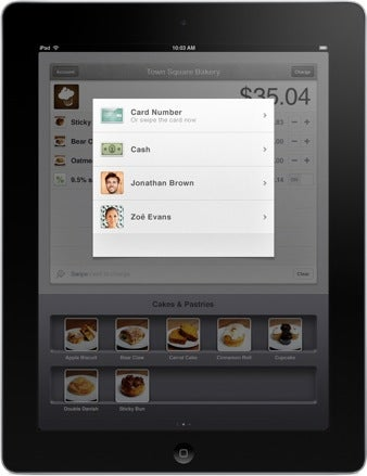 Square Register, a new free app for Apple's iPad