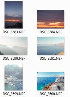 RAW files in Windows Explorer using the Codec