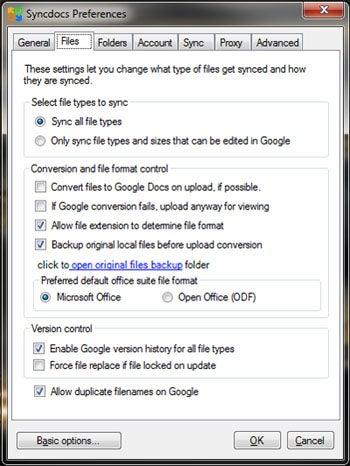 SyncDocs Sync Google Docs