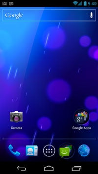 Android Ice Cream Sandwich UI