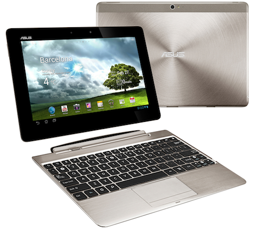 The Asus PadFone and Transformer Pad tablet