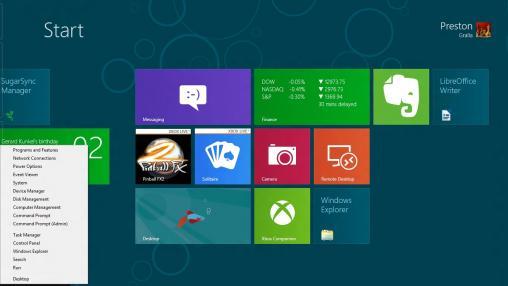 Windows 8 administrative tools