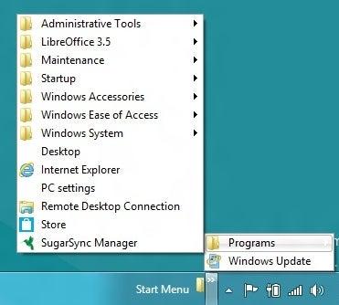 Adding Start Menu to Windows 8