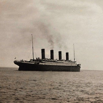 Last Titanic photo