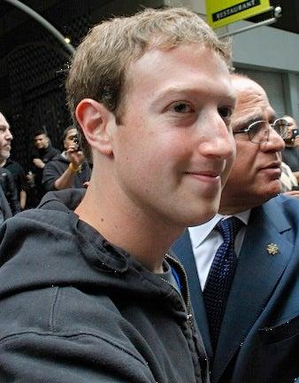 Zuckerberg's hoodie