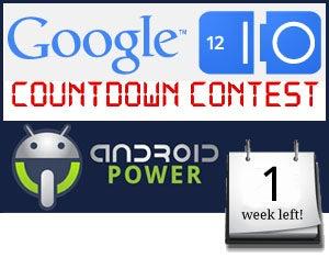 Google I/O Countdown Contest