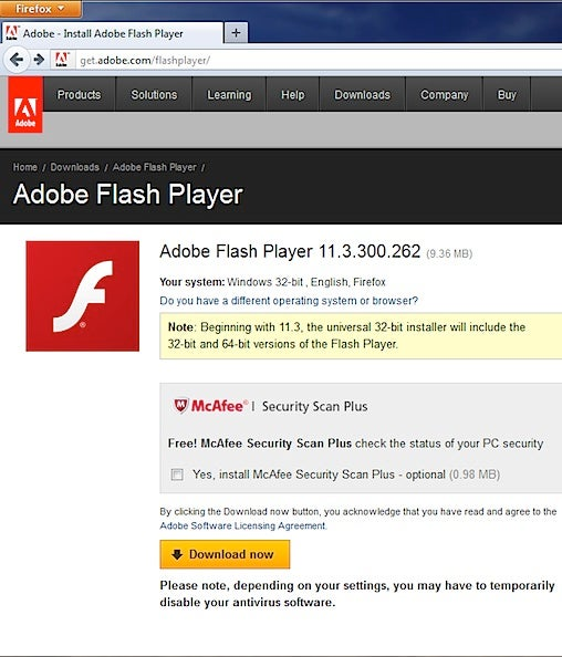 Adobe fixes Flash Player for Firefox to stop crashes ...