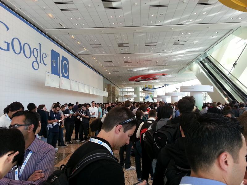 Google I/O Keynote Line